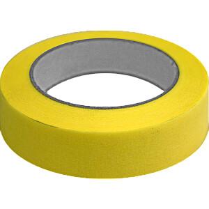 Līmlenta krāsošanas CREPE 25mm 50m dzeltena