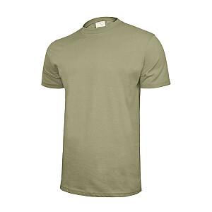 T-krekls kokvilnas pelēks L