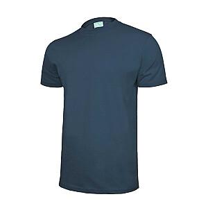T-krekls kokvilnas zils L