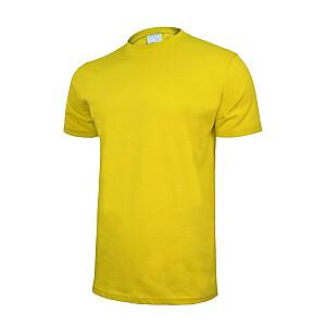 T-krekls kokvilnas dzeltens XL