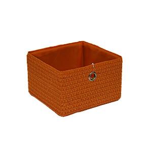 Grozs poliesters, 34x31.5x29cm, oranžs