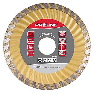 Dimanta disks PST 125x22mm super turbo Proline
