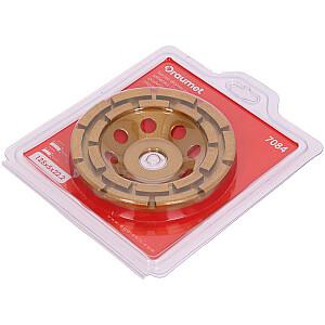 Dimanta disks slīpešanai PRO 125mm 2 rindu segmenti