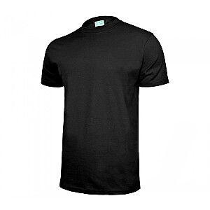 T-krekls kokvilnas melns M
