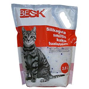 Smiltis kaķiem silikona 3.8l