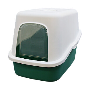 Kaķu tualete, slēgtā 57x37x41cm