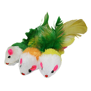 Rotaļlieta kaķiem pelītes 3gb