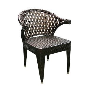 Krēsls pīts, metāla brūns