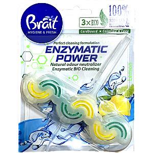 WC bloks 45g Brait Enzymatic Lemon