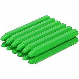 Krītiņš iezīmēšanai 12gb zaļš, vaska