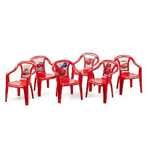 Krēsls plastmasas bērniem Disney Cars