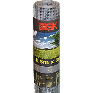 Žogs lodēts stieples 0.5mx10m (12.7x12.7mm)