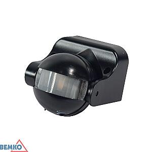 Sensors kustības 180 IP44/1200W melns