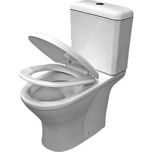 WC pods Avile, hor. izvads, 3/6L, LNM