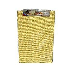 Vannas istabas paklājs 50x0.6x80cm, g.dzeltens