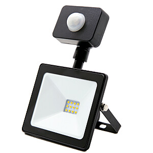 Prožektors LED 30W/IP44/4000k ar sensoru melns