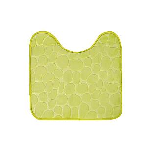 Vannas istabas paklājs U veida 45x45cm, zaļš
