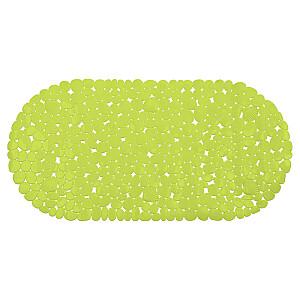 Vannas istabas paklājs pretslīdēšanas, zaļš