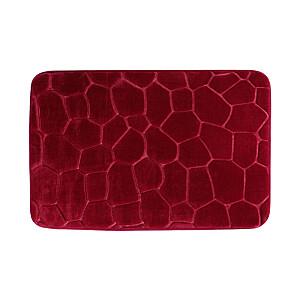 Vannas istabas paklājs 45x70cm, sarkans