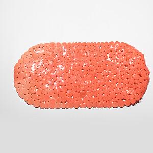 Vannas istabas paklājs pretslīdēšanas, oranžs