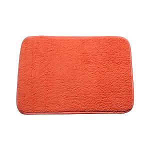 Vannas istabas paklājs 40x60cm poliestera, oranžs