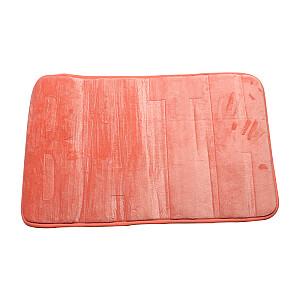 Vannas istabas paklājs 45x70cm kokvilnas, oranžs