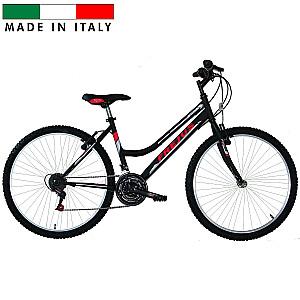 "Frejus MTB pusaudžu velosipēds – melns (Rata izmērs: 26"")"