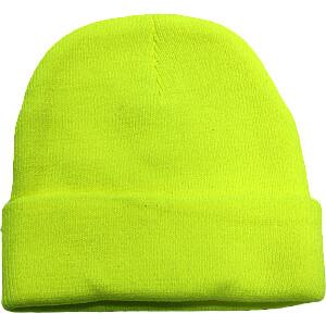 Cepure silta dzeltena akrila