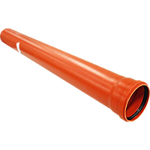 Caurule PVC 110X500 SN4