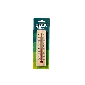 Termometrs āra un iekštelpu, koka 15cm