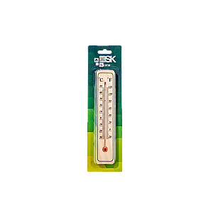 Termometrs āra un iekštelpu, koka 20cm