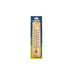 Termometrs āra un iekštelpu, koka 22cm