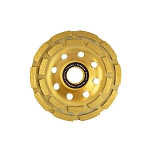 Dimanta disks slīpešanai 125mm 2 rindu segmenti