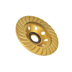Dimanta disks slīpešanai 125mm Turbo segmenti
