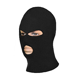 Cepure-maska Balaklava 3 caur. melna