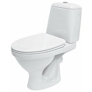 WC pods Eko Compact 010 3/6, hor., duroplast antib. vāks