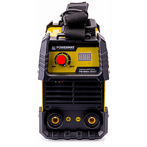 Metin. invertors 300A LCD līdz 4mm Powermat MMA-300ST