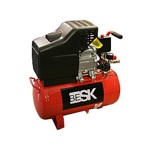 Kompressors 24l 210l/min 8bar BESK