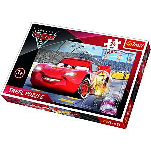 "TREFL Maxi Puzle 24 ""Vāģi 3"""